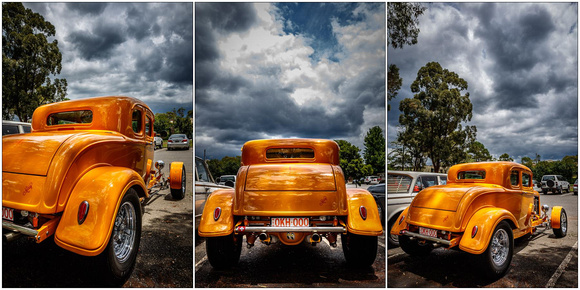 octane '32 Ford coupe print samples 3 - stormy sky