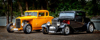 3521 - '32 Ford coupes angle