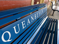Queanbeyan railway station benches